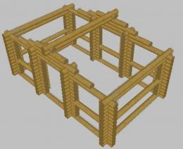 Беседка «Прямоугольная 6х4»